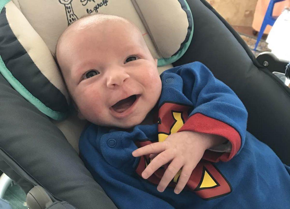 Το χαμόγελο ενός μωρού, μια πραγματική ευλογία