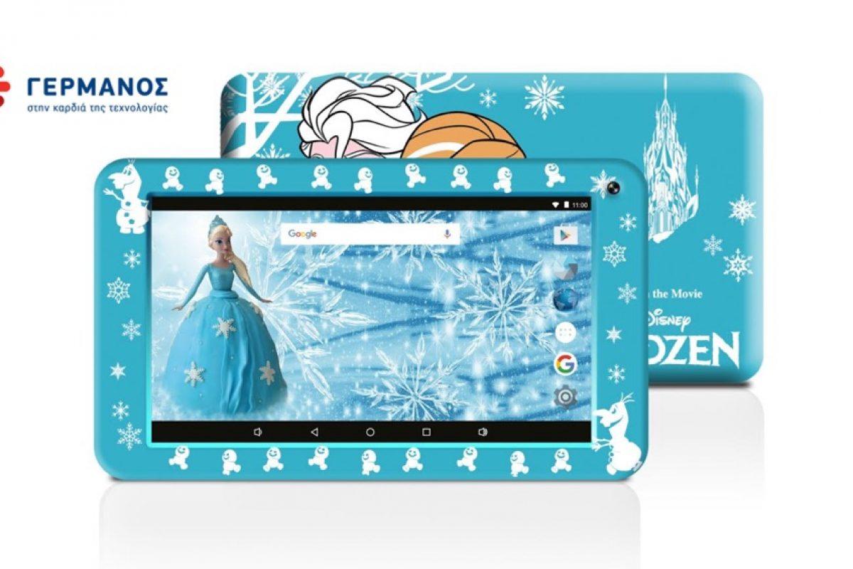 ΕΛΗΞΕ: Κερδίστε το μοναδικό tablet eSTAR Frozen Case Wi-Fi με την Έλσα και την Άννα από τα καταστήματα ΓΕΡΜΑΝΟΣ!