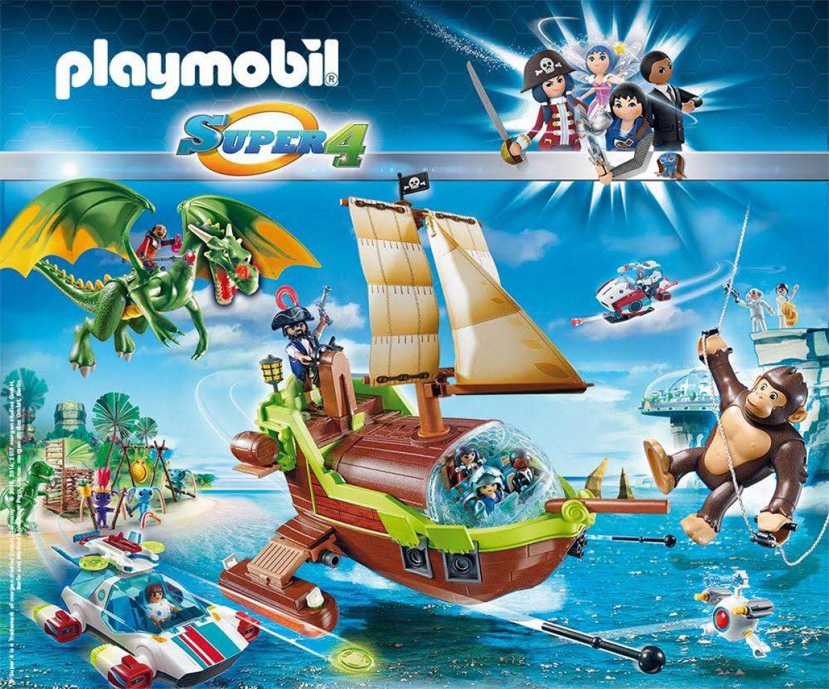 Τα νέα παιχνίδια των PLAYMOBIL Super 4 έφθασαν!