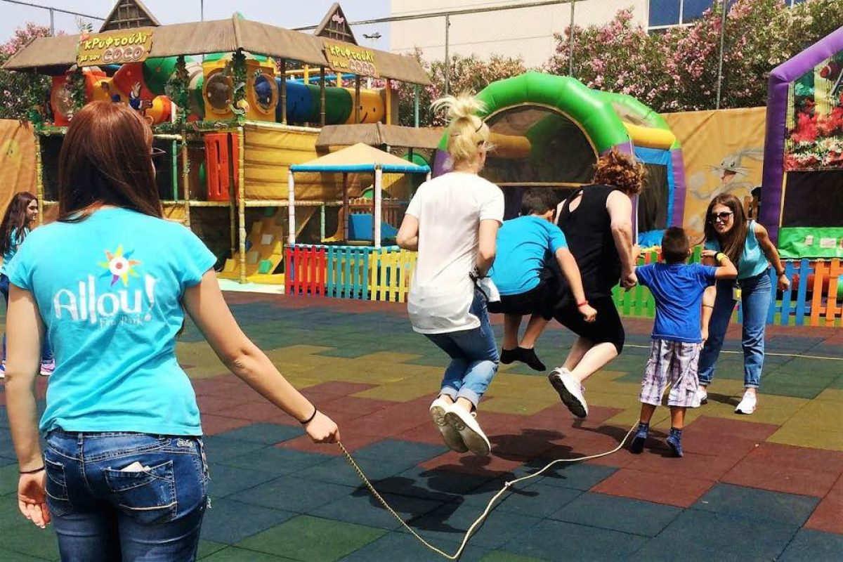 Family Day @ Allou! & Kidom με παιχνίδι και δώρα