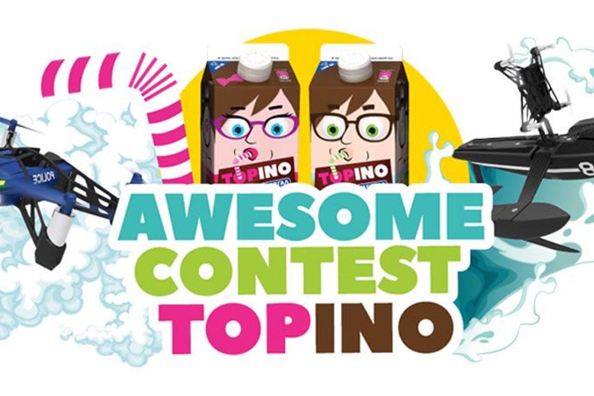 Μεγάλος διαγωνισμός από το TOPINO με δώρο drones!