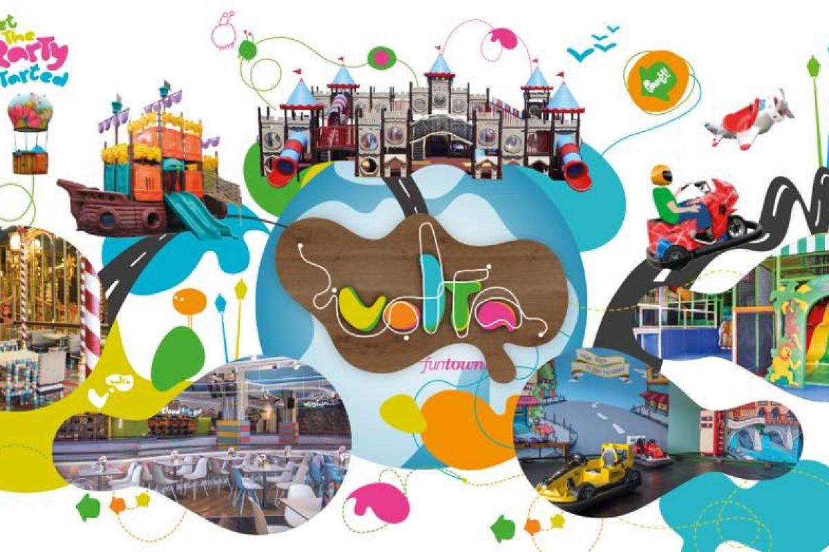 Διοργανώστε το τέλειο παιδικό πάρτυ στα Volta Fun Town!
