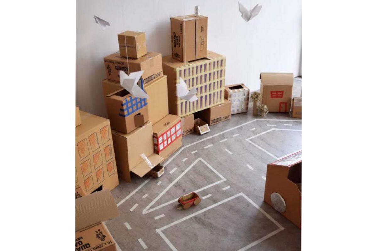Χάρτινη Πόλη   Μια πόλη φτιαγμένη από τα παιδιά, για τα παιδιά!