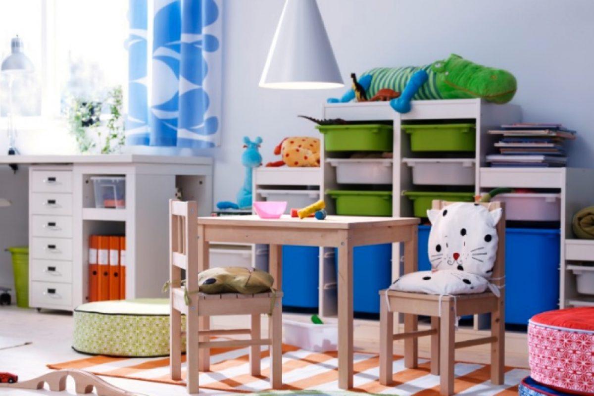 Οργάνωσε το χάος του παιδικού δωματίου με την βοήθεια των TROFAST της IKEA!