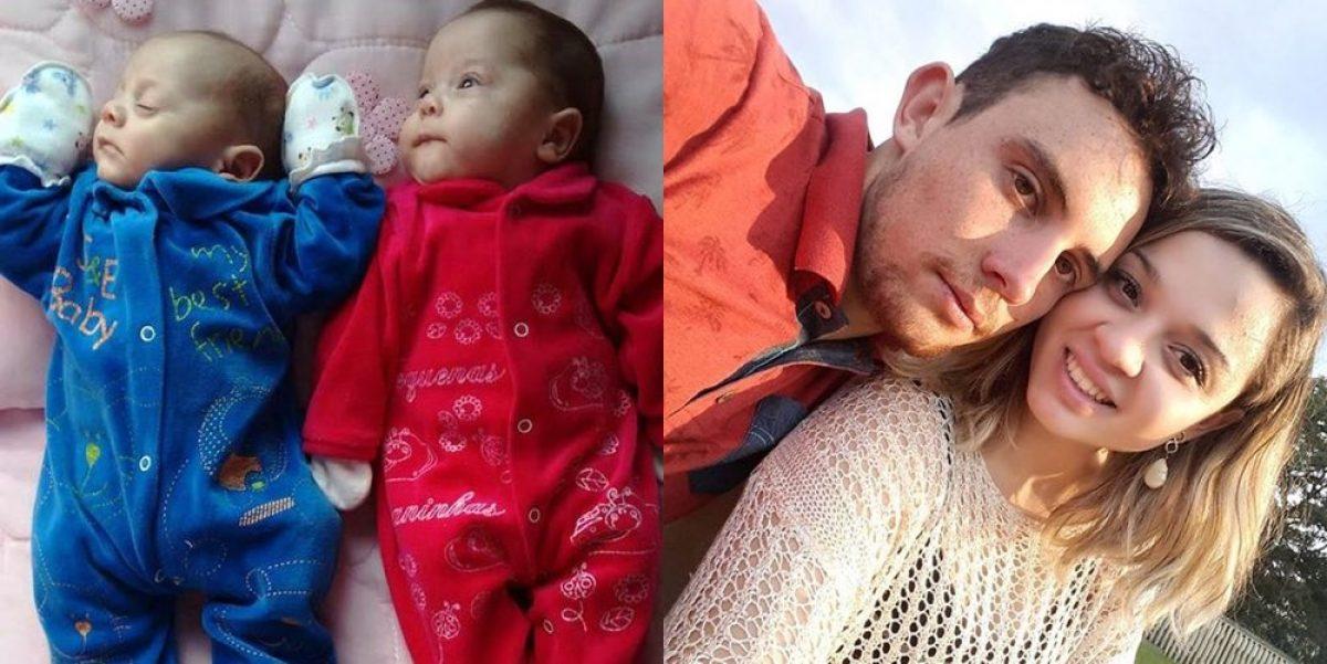 Εγκεφαλικά νεκρή μαμά έφερε στον κόσμο τα διδυμάκια της…
