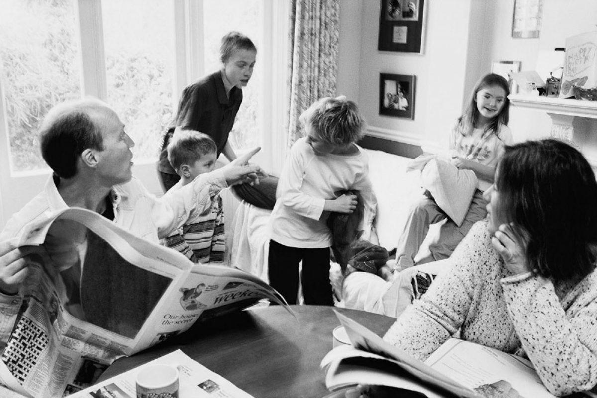 Η αποκατάσταση των συγκρούσεων στην οικογένεια