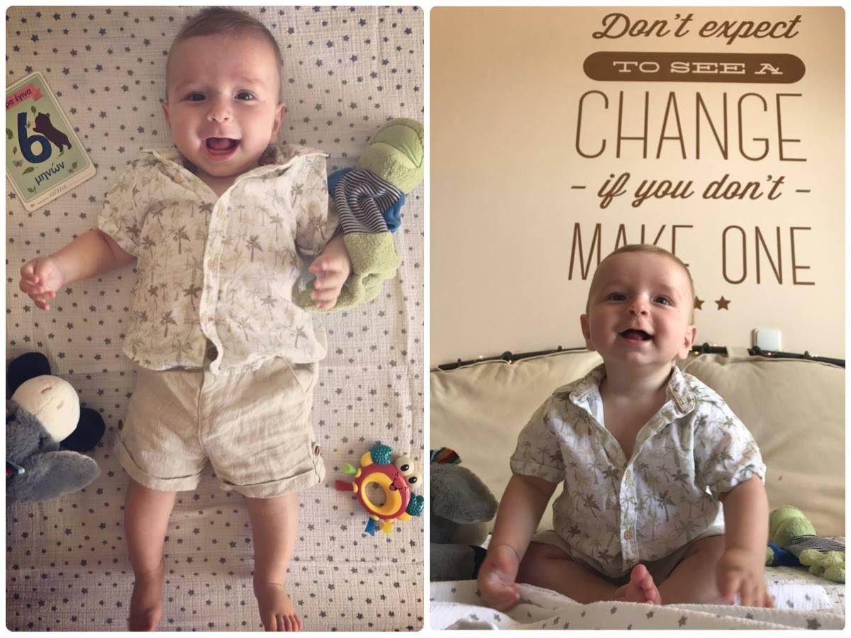 Ο Άγγελος έγινε 6 μηνών!