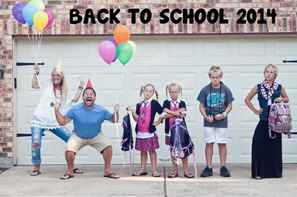 Μαμάδες και μπαμπάδες πετούν από τη χαρά τους που ανοίγουν τα σχολεία!
