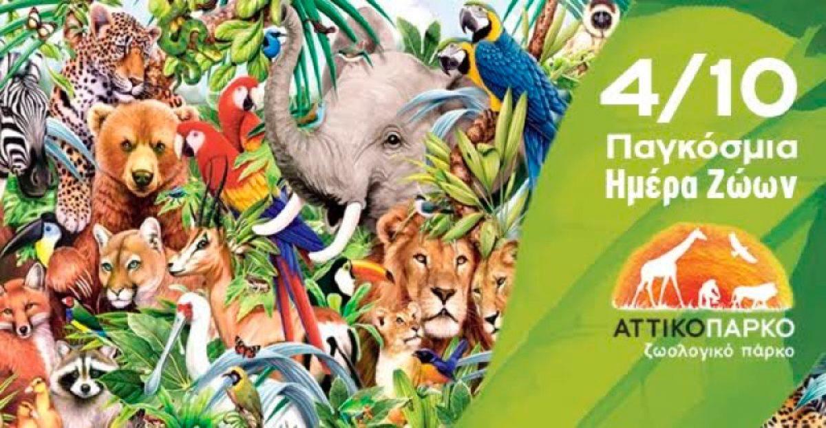Δωρεάν Είσοδος σε όλα τα παιδιά σήμερα στο Αττικό Ζωολογικό Πάρκο!