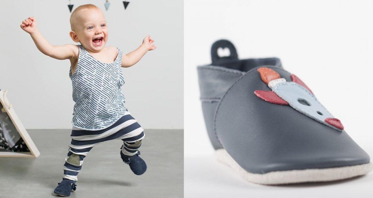Αυτά είναι τα ιδανικά παπούτσια για τα πρώτα βήματα του μωρού σας!