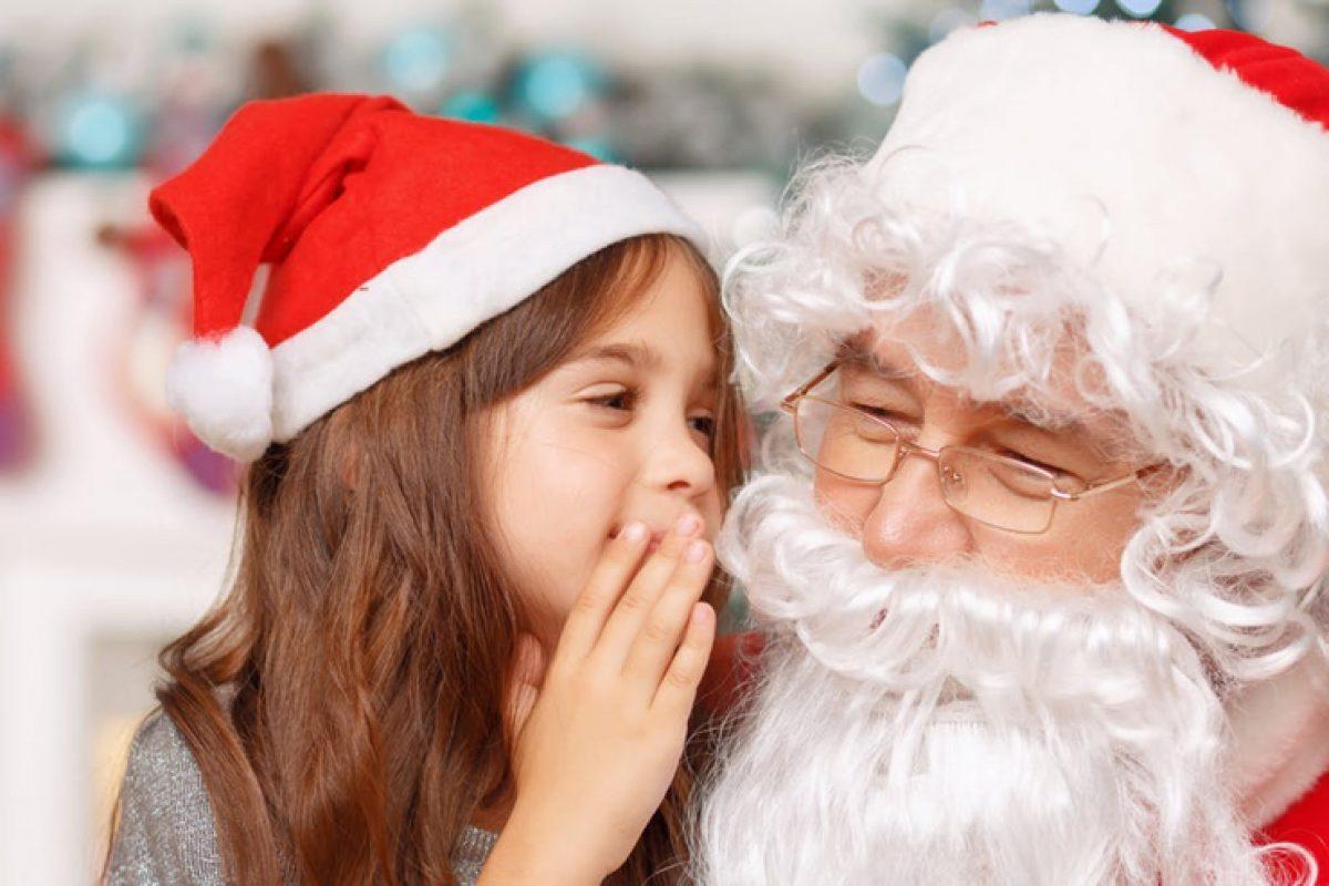 «Ήσουν καλό παιδί φέτος; Ο Άγιος Βασίλης όλα τα βλέπει..» μια ερώτηση που όλα τα παιδιά φοβούνται