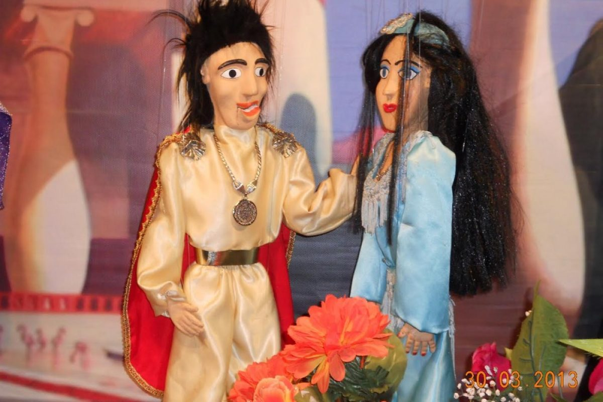 «Ο Αλαντίν και το μαγικό λυχνάρι» από το Θέατρο Μαριονέτας Γκότση