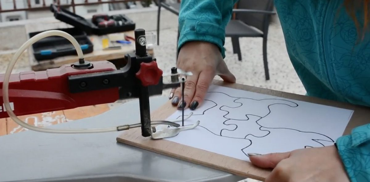 Πώς κατασκευάζεται ένα ξύλινο παζλ
