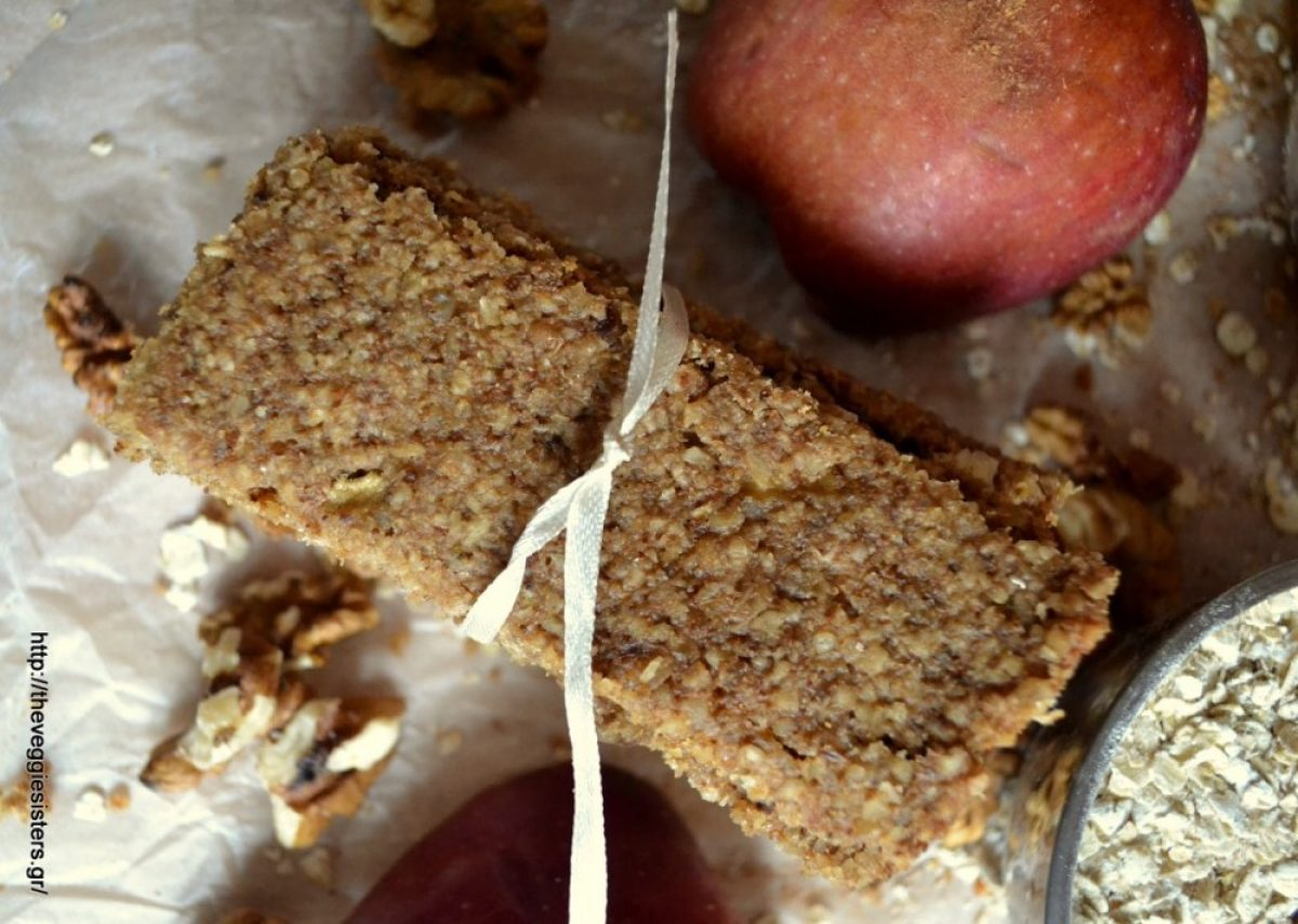 Παιδικές μπάρες μήλου