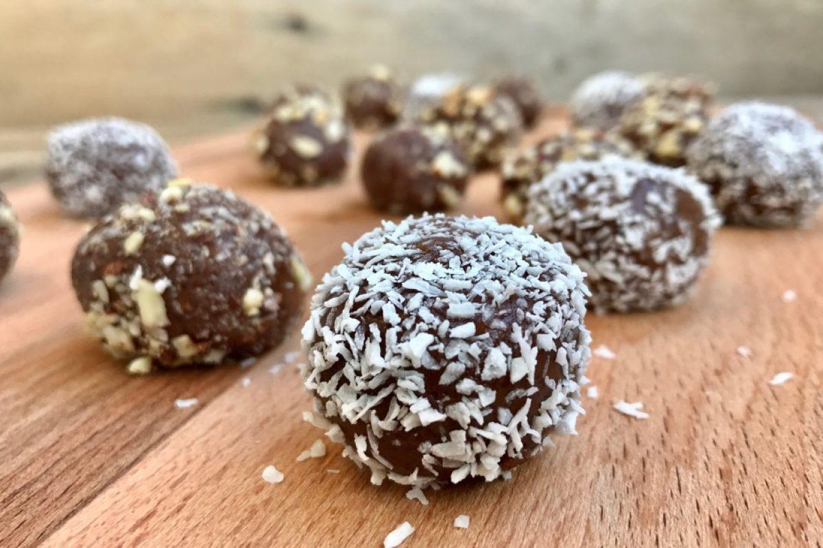 Ταχινάκια με σοκολάτα