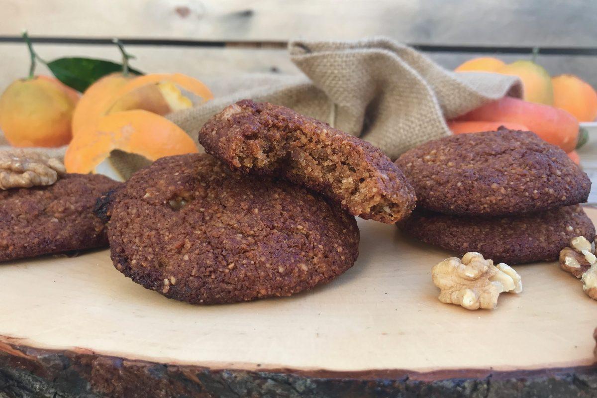 Μπισκότα με καρότο και καρύδια