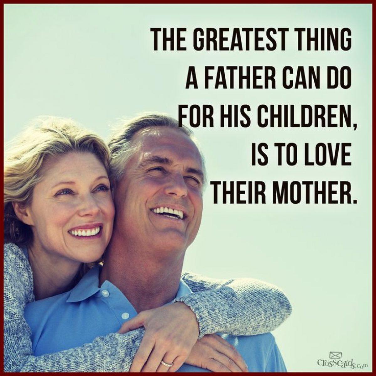 Το πιο σπουδαίο που μπορεί να διδάξουν οι γονείς