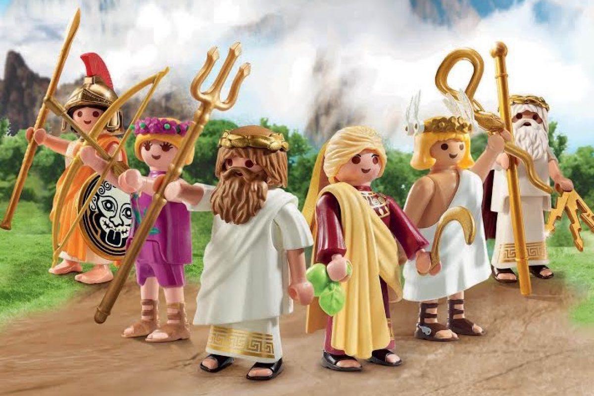 Η Playmobil φέρνει στα χέρια των παιδιών 6 θεούς του Ολύμπου!