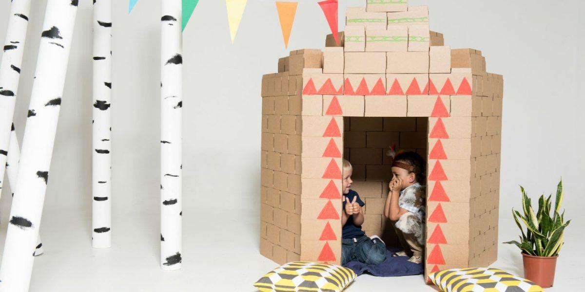 Με τα Gigi Blocks τα παιδιά φτιάχνουν σπίτια, κάστρα, μαγαζιά και ό,τι βάλουν στο μυαλό τους!
