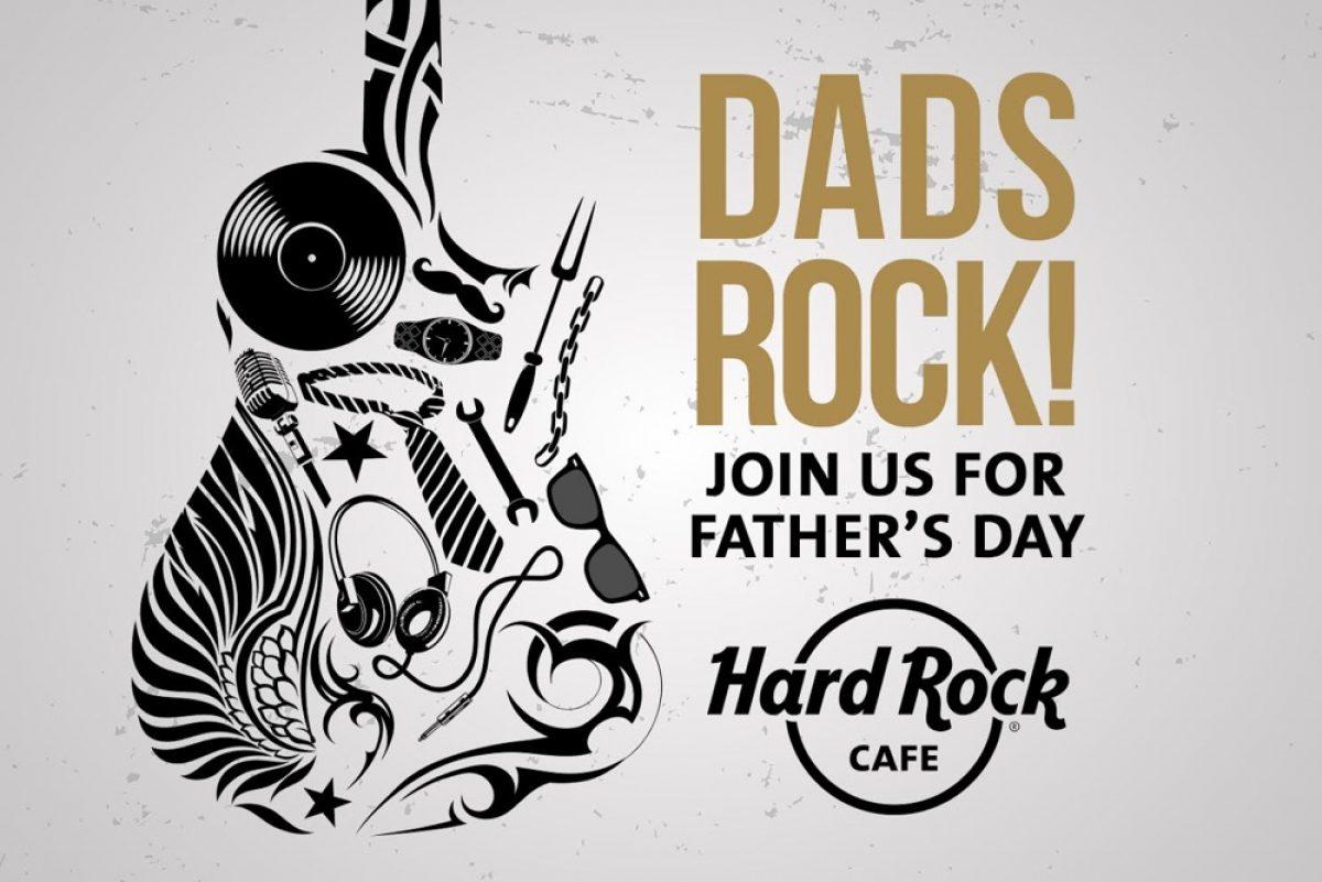 Οι μπαμπάδες έχουν την τιμητική τους στο Hard Rock Cafe!
