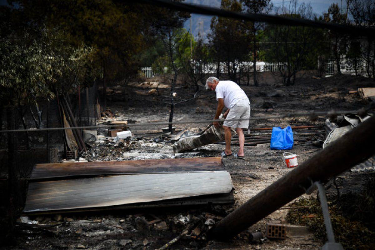 Φωτιές σε Αττική και Κινέτα: Πού θα βρουν ψυχολογική υποστήριξη οι πληγέντες