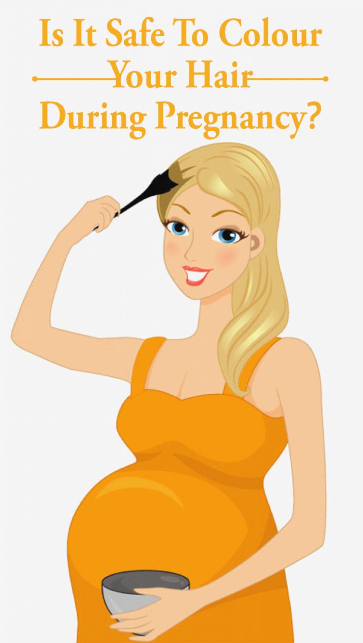 Εγκυμοσύνη και βαφές μαλλιών