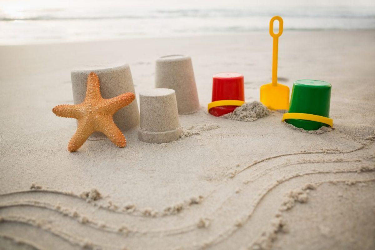 Οδηγίες για τους μικρούς αρχιτέκτονες της άμμου