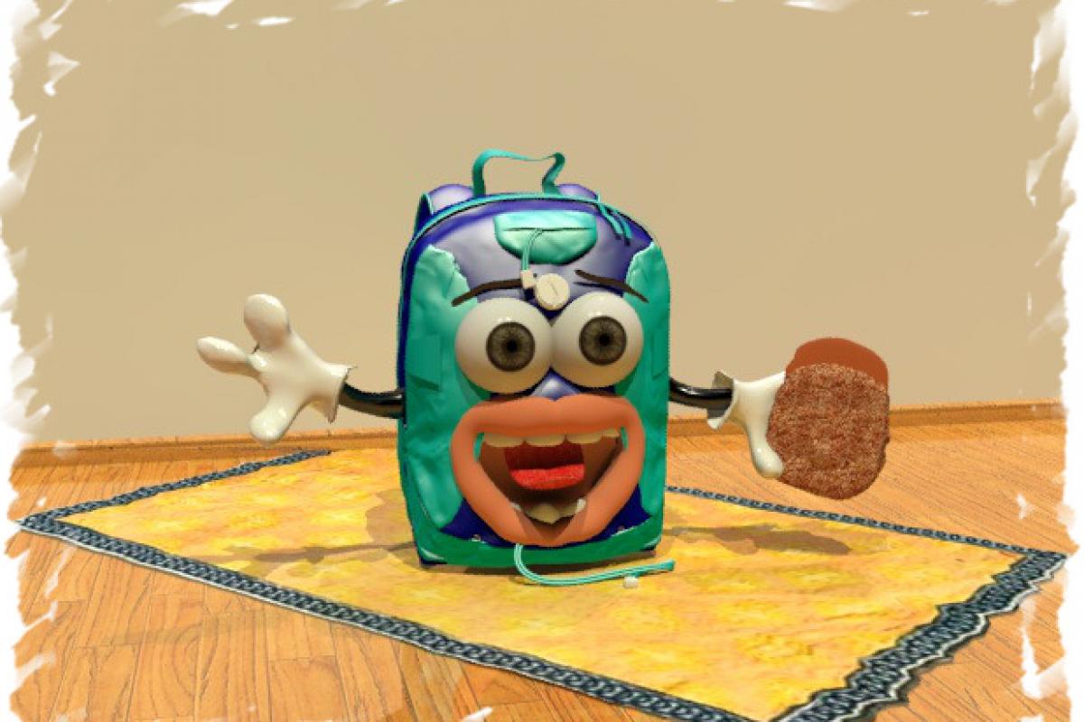 Η ξεχασιάρα τσάντα και το κολατσιό