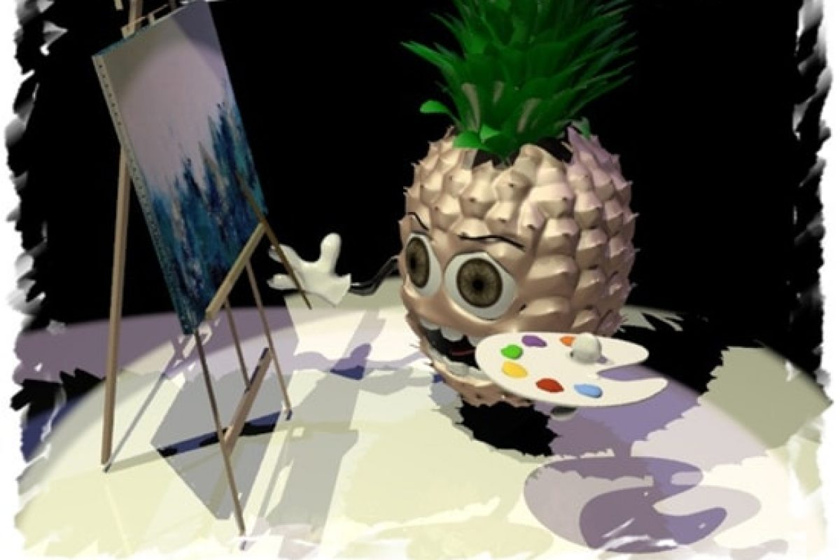 Ο ανανάς και η αφηρημένη τέχνη