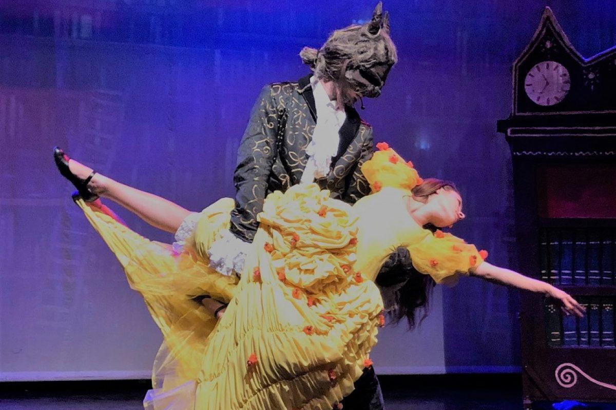 «Η Πεντάμορφη και το Τέρας» Κάθε Κυριακή στις 11.30 στο θέατρο «Σοφούλη»