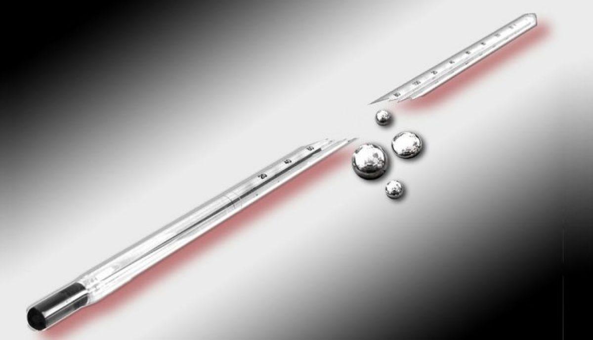 Τι κάνουμε εάν σπάσει θερμόμετρο υδραργύρου;