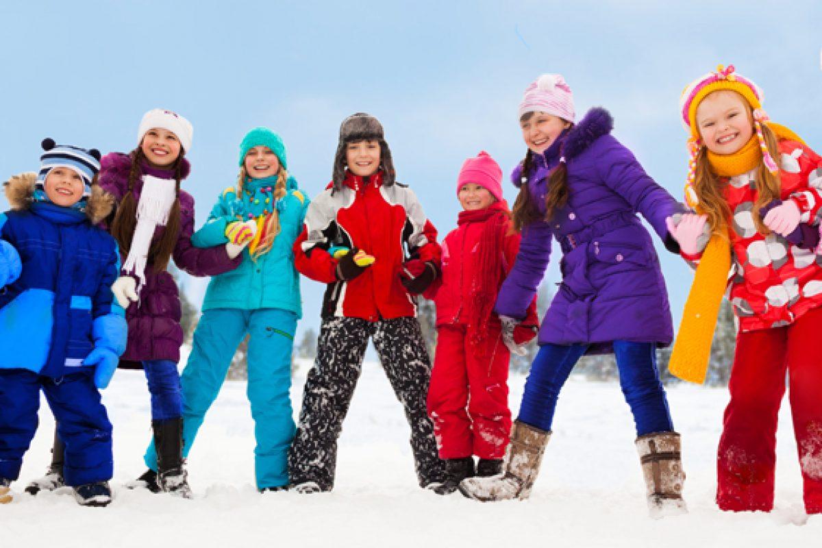 Πως ντύνουμε τα παιδιά το χειμώνα;