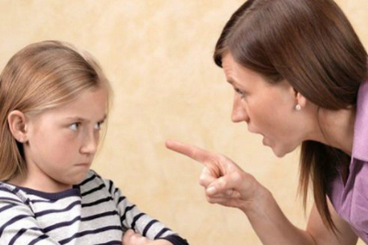 Μην φωνάζετε στα παιδιά