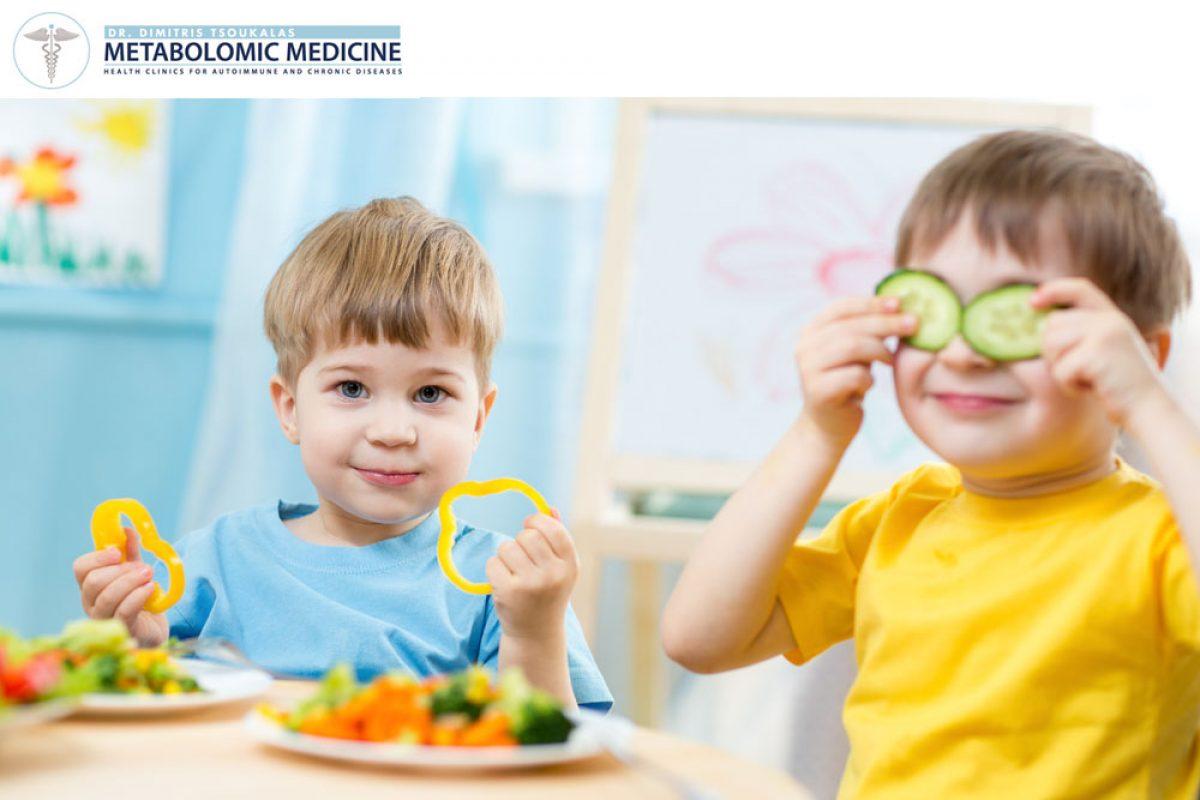 Παιδικό άσθμα και μεσογειακή διατροφή
