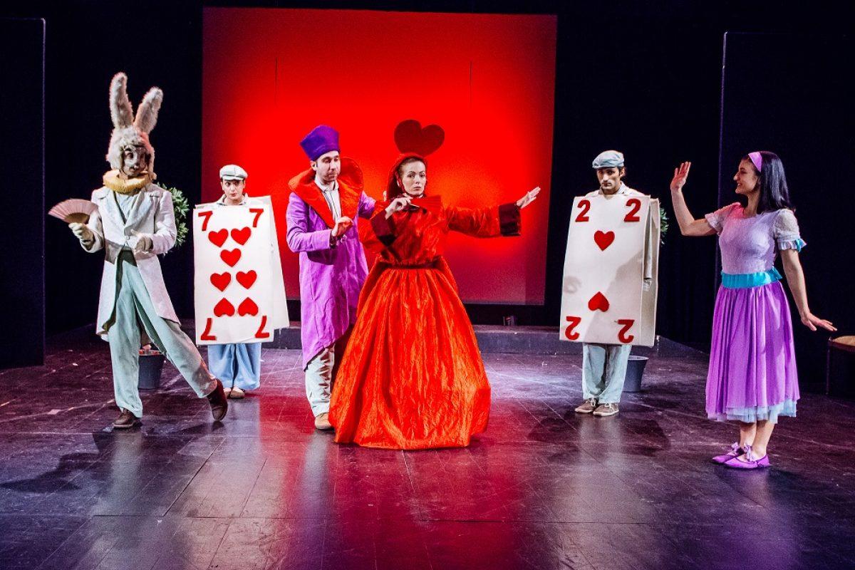 """Χριστούγεννα με την """"Αλίκη στη χώρα των θαυμάτων"""" Σε διασκευή-σκηνοθεσία Δημήτρη Αδάμη Στο Δημοτικό Θέατρο Καλαμαριάς"""