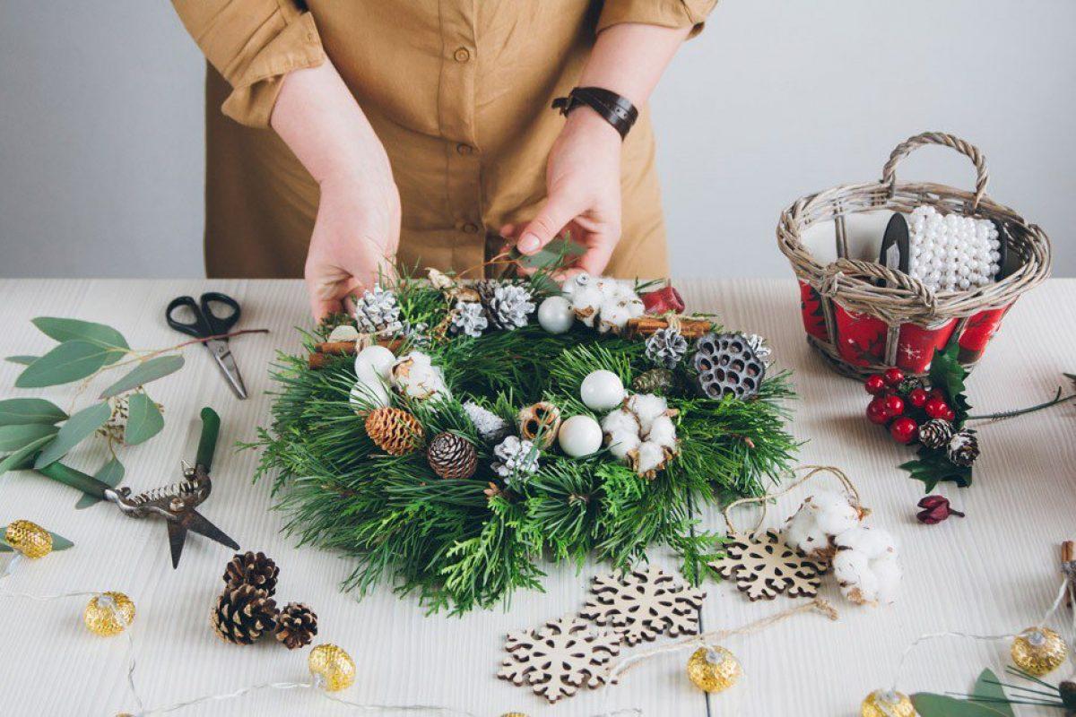 8 DIY Χριστουγεννιάτικα Στεφάνια για να διακοσμήσεις το Σπίτι σου!