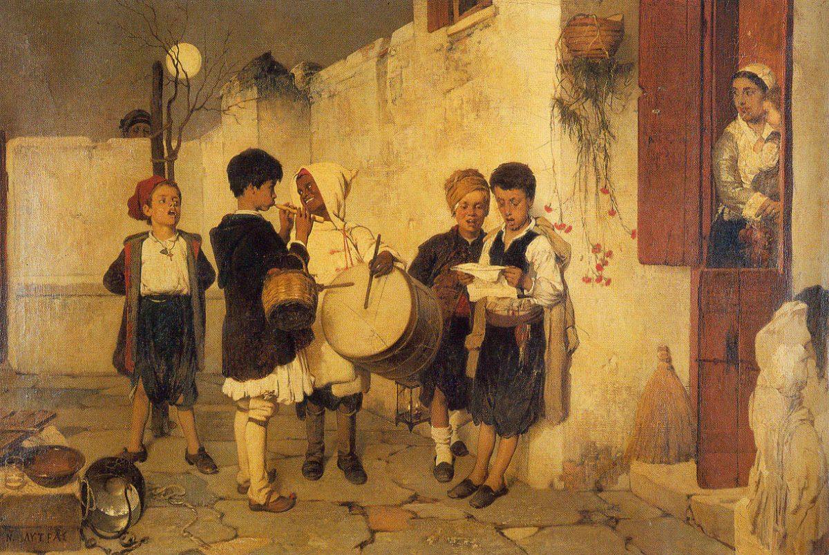 Ο πιο διάσημος πίνακας για τα κάλαντα και η ιστορία του