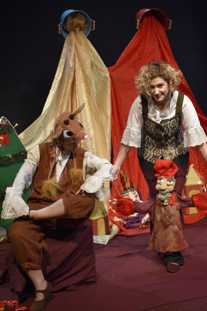 Ρούντολφ ο τραγουδιστής της Όπερας Στο θέατρο Τόπος Αλλού-Αερόπλοιο