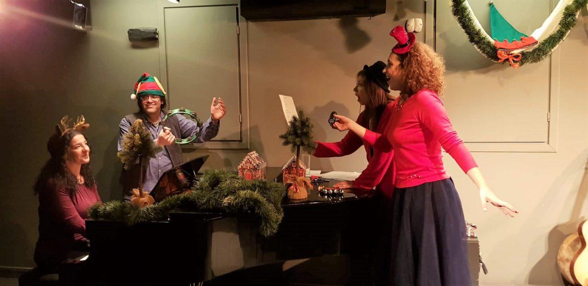 «Τα πιο αληθινά Χριστούγεννα!» Αφήγηση γιορτινών ιστοριών με ζωντανή μουσική με την ομάδα αφήγησης Χείλια Λένε Παραμύθια
