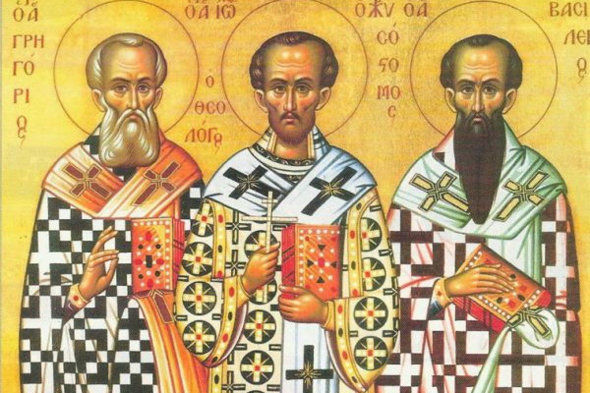 Τριών Ιεραρχών: Πώς καθιερώθηκε ο εορτασμός τους