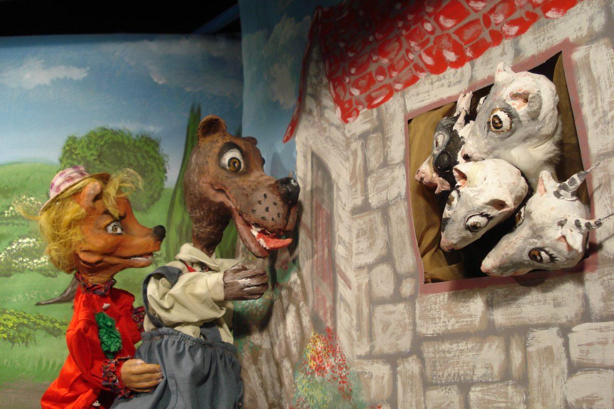 Το ΚΟΥΚΛΟΘΕΑΤΡΟ  της Χριστίνας Μπήτιου (ΧΑΝΘ) Παρουσιάζει το παραμυθόδραμα :  ''Η ΑΛΕΠΟΥ, Ο ΛΥΚΟΣ ΚΑΙ Ο ΓΑΙΔΑΡΟΣ΄΄  Κάθε Κυριακή του Φεβρουαρίου στις 12 το μεσημέρι