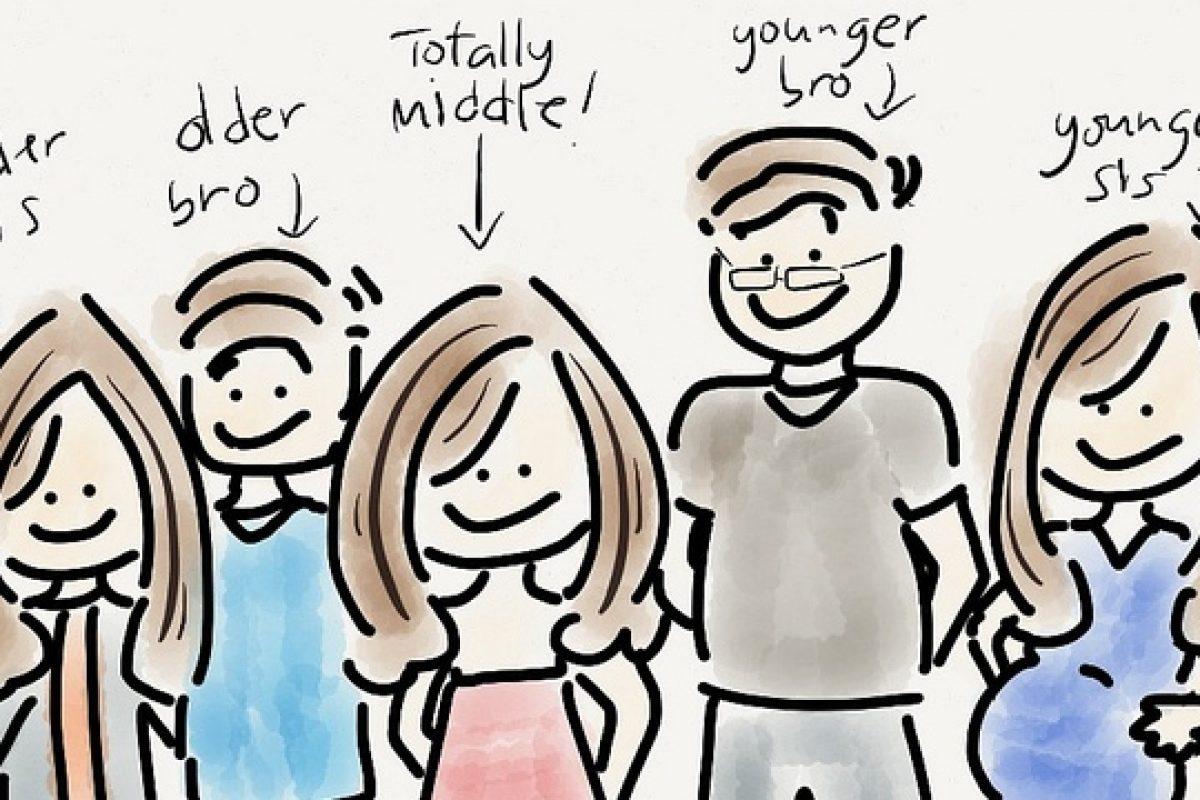 «Σύνδρομο» του μεσαίου παιδιού: Όταν τα αδέρφια είναι τρία κι εσύ βρίσκεσαι στη μέση