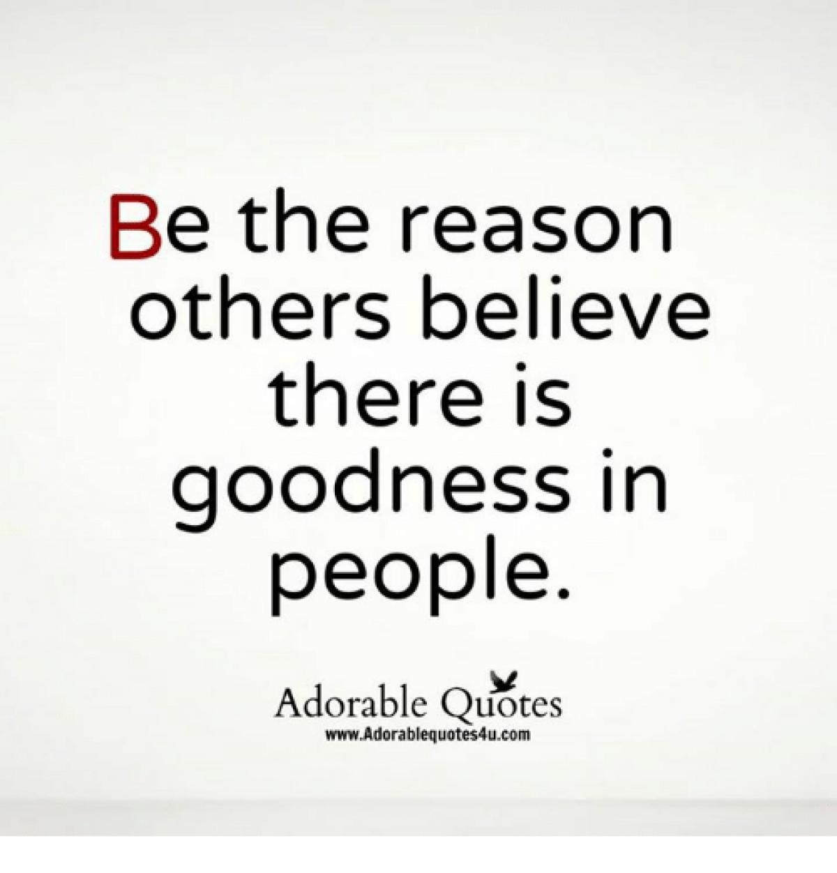 Οι άνθρωποι αλλάζουν πιο εύκολα όταν κάποιος πιστέψει σε αυτούς