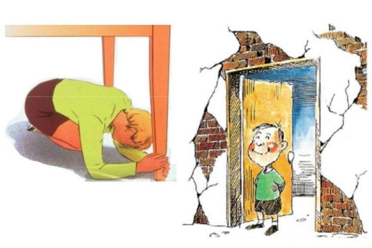 Το απαραίτητο μνημόνιο ενεργειών στα σχολεία σε περίπτωση σεισμού