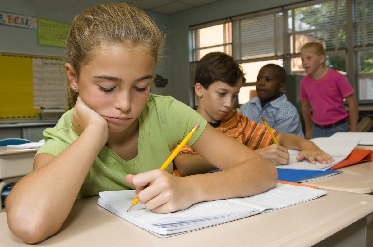 Αριστερόχειρες μαθητές