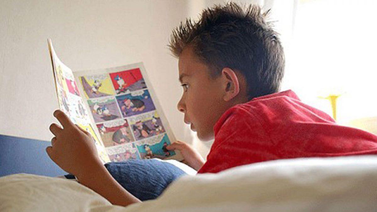 Οι ήρωες των έντυπων κόμικς  και η επίδρασή τους πάνω στα παιδιά