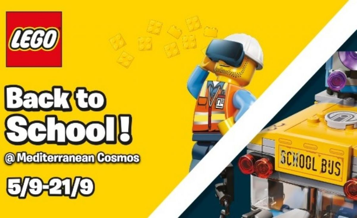 LEGO® – Back to School @ Mediterranean Cosmos