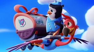 "T.O.T.S. - ""You've Gotta Be Kitten Me"" - On Pip and Freddy's first day as Junior Fliers, they deliver a kitten who mistakes them for her parents. (Disney Junior) PIP, FREDDY"