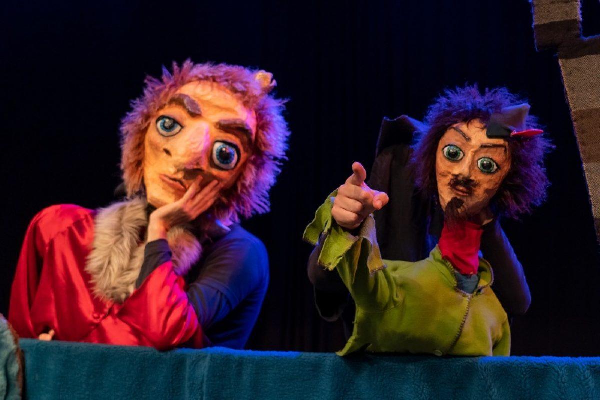 Οι REDICOLO παρουσιάζουν την παράσταση κουκλοθεάτρου «ΡΟΜΠΕΝ ΤΩΝ ΔΑΣΩΝ, Η ΑΛΗΘΙΝΗ ΙΣΤΟΡΙΑ»