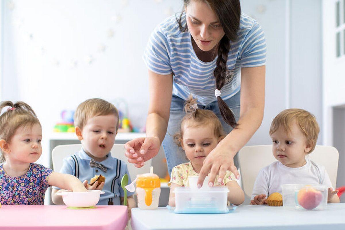 Συστάσεις του Υπ. Υγείας προς τους βρεφονηπιακούς σταθμούς για το διαιτολόγιο των παιδιών